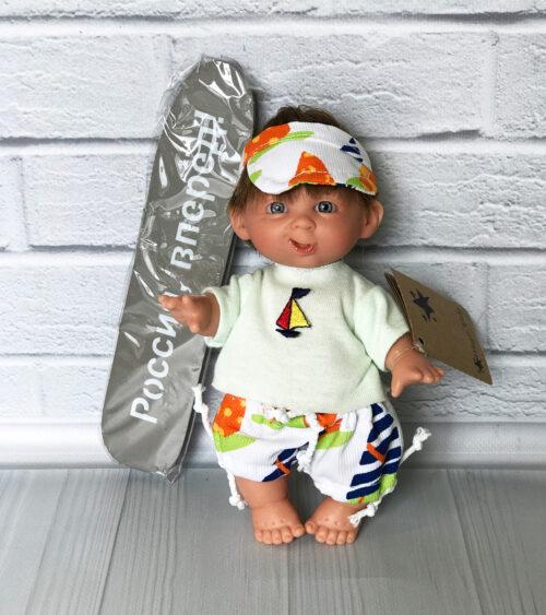 Испанская кукла мальчик серфер от фабрики Lamagik
