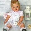 Кукла Сьюзи в воздушном платье розового цвета