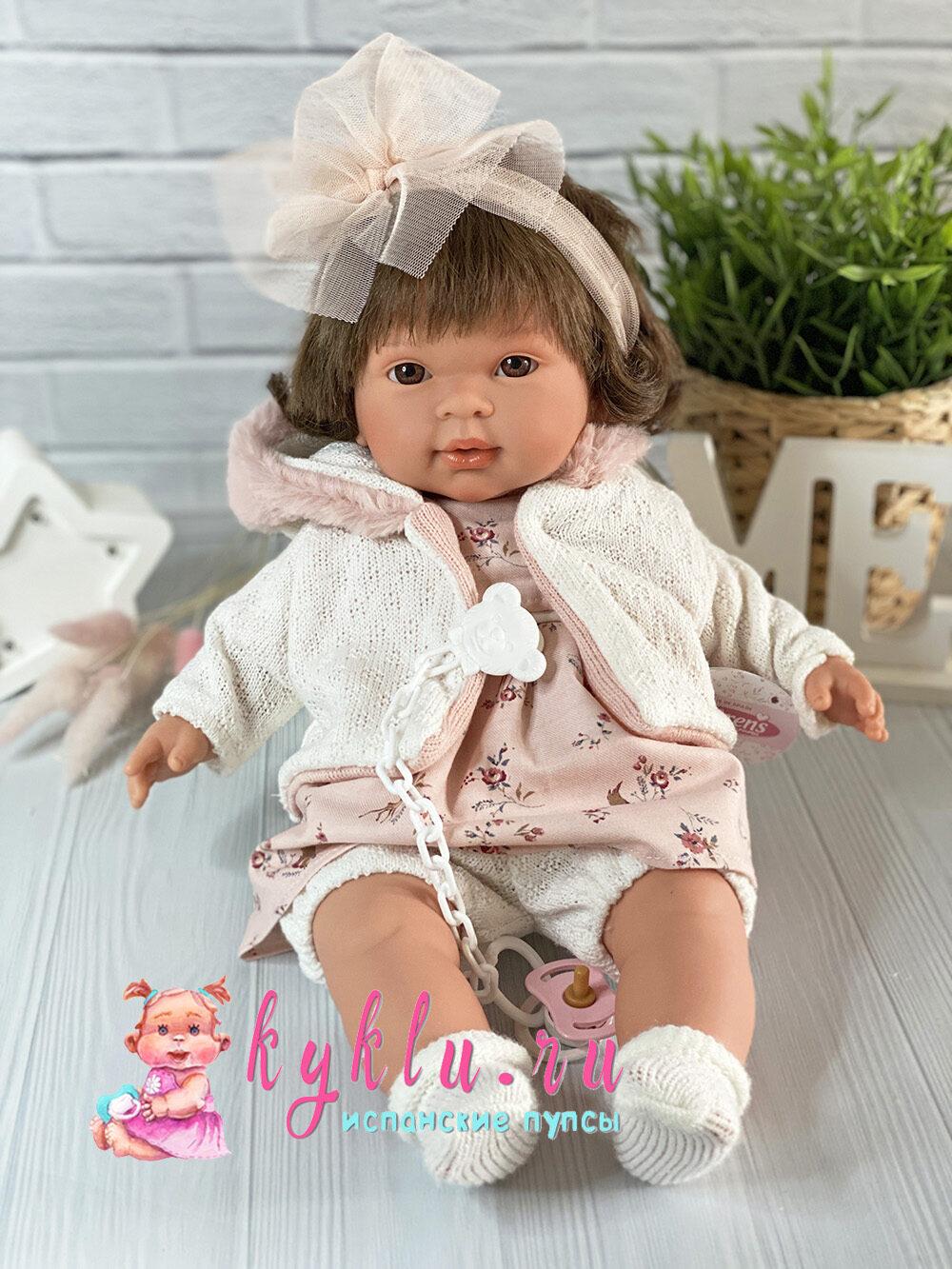 Кукла Пиппа с карими глазками