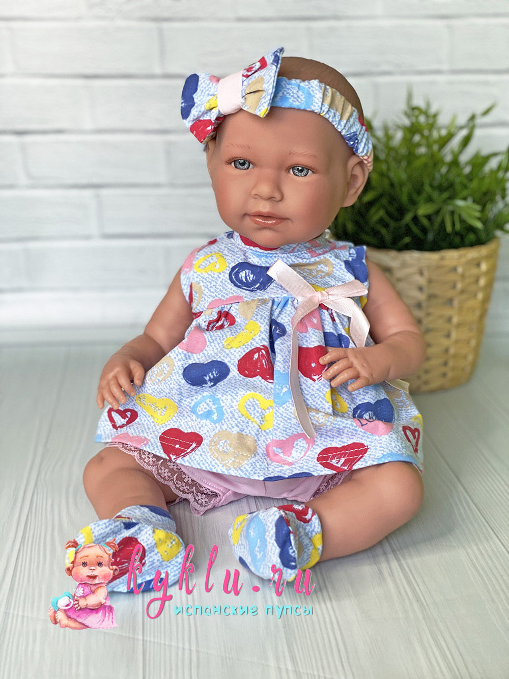 Комплект для куклы с шортами