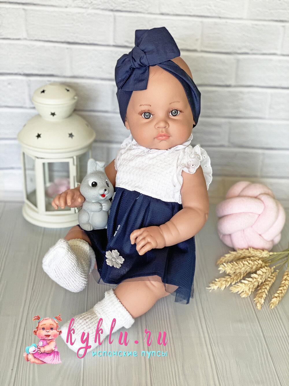 Кукла Алисия в синем платье