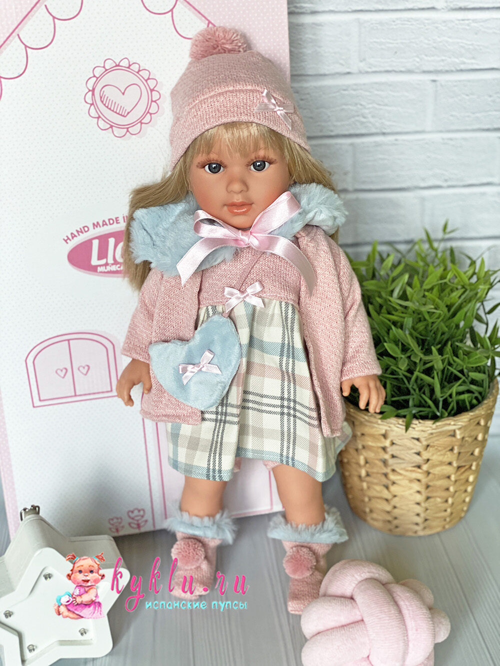 Кукла Martina от Llorens