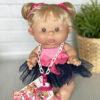 Пупс девочка-блондинка с волосами 26 см