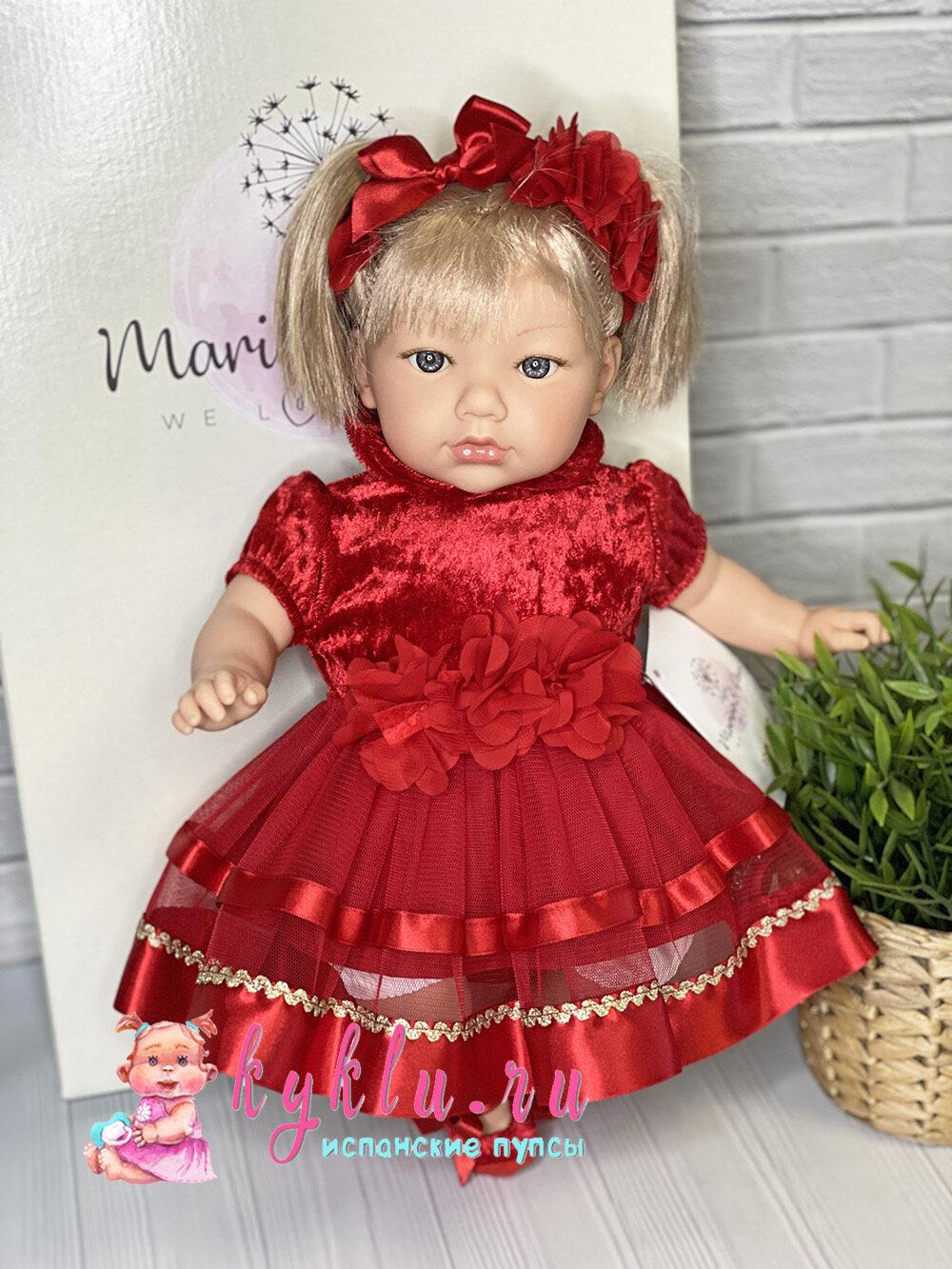 Кукла Алина в красном платье