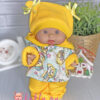 Зимний костюм для пупса 26 см