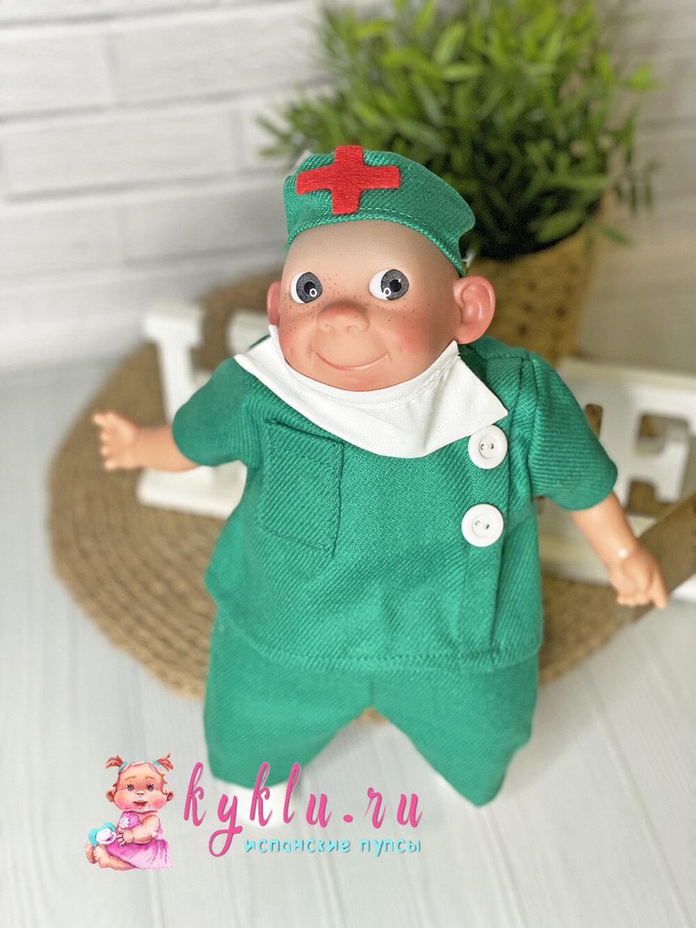 """Кукла с эмоциями """"доктор"""" от Lamagik"""