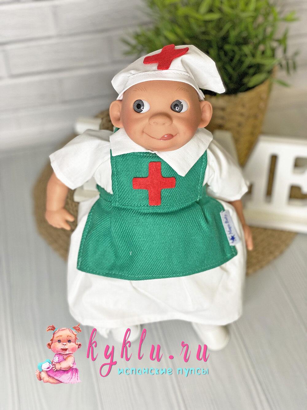 """Кукла """"Доктор"""" с эмоциями от Lamagik"""