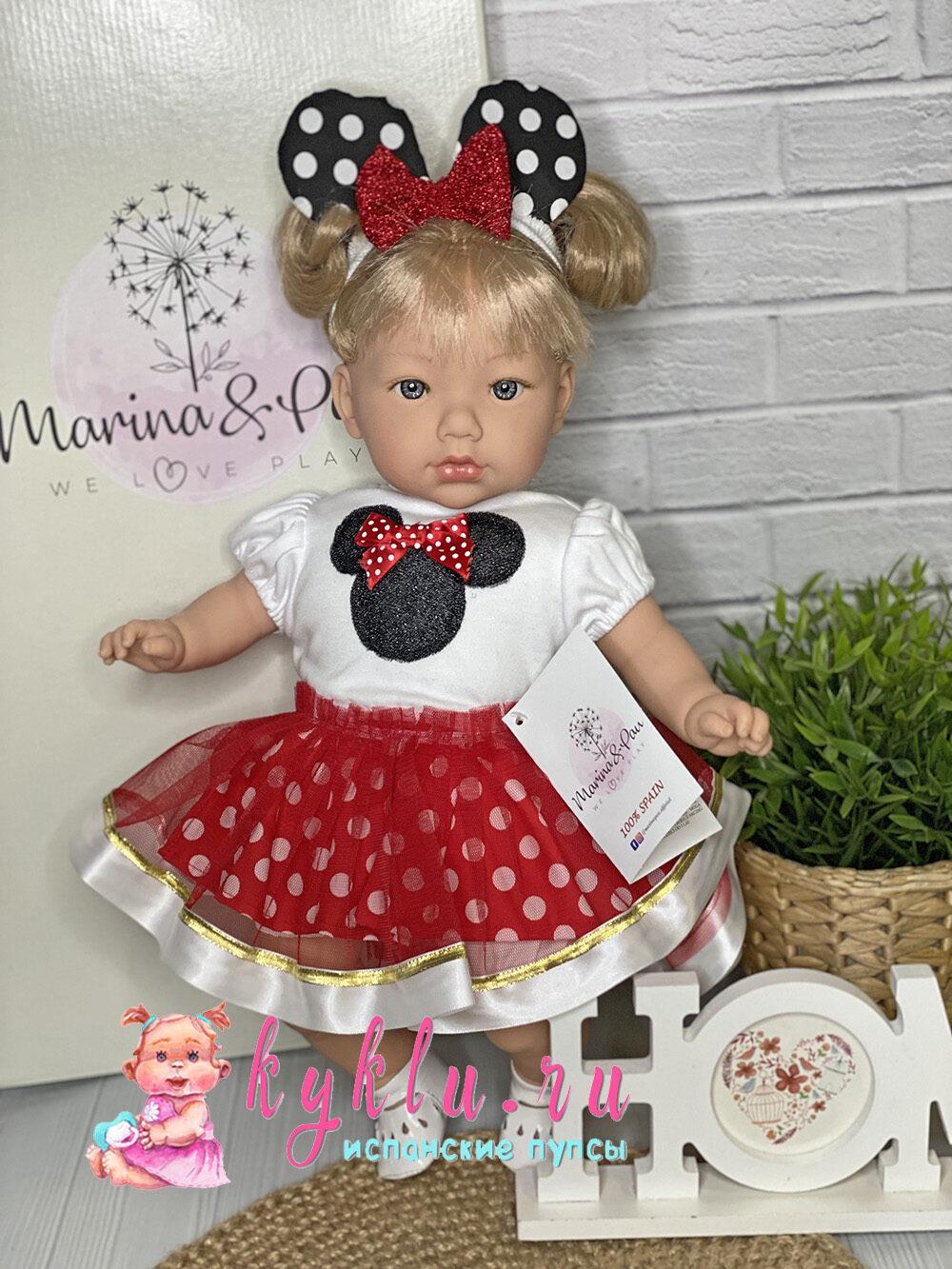 Кукла Алина в костюме Минни Маус