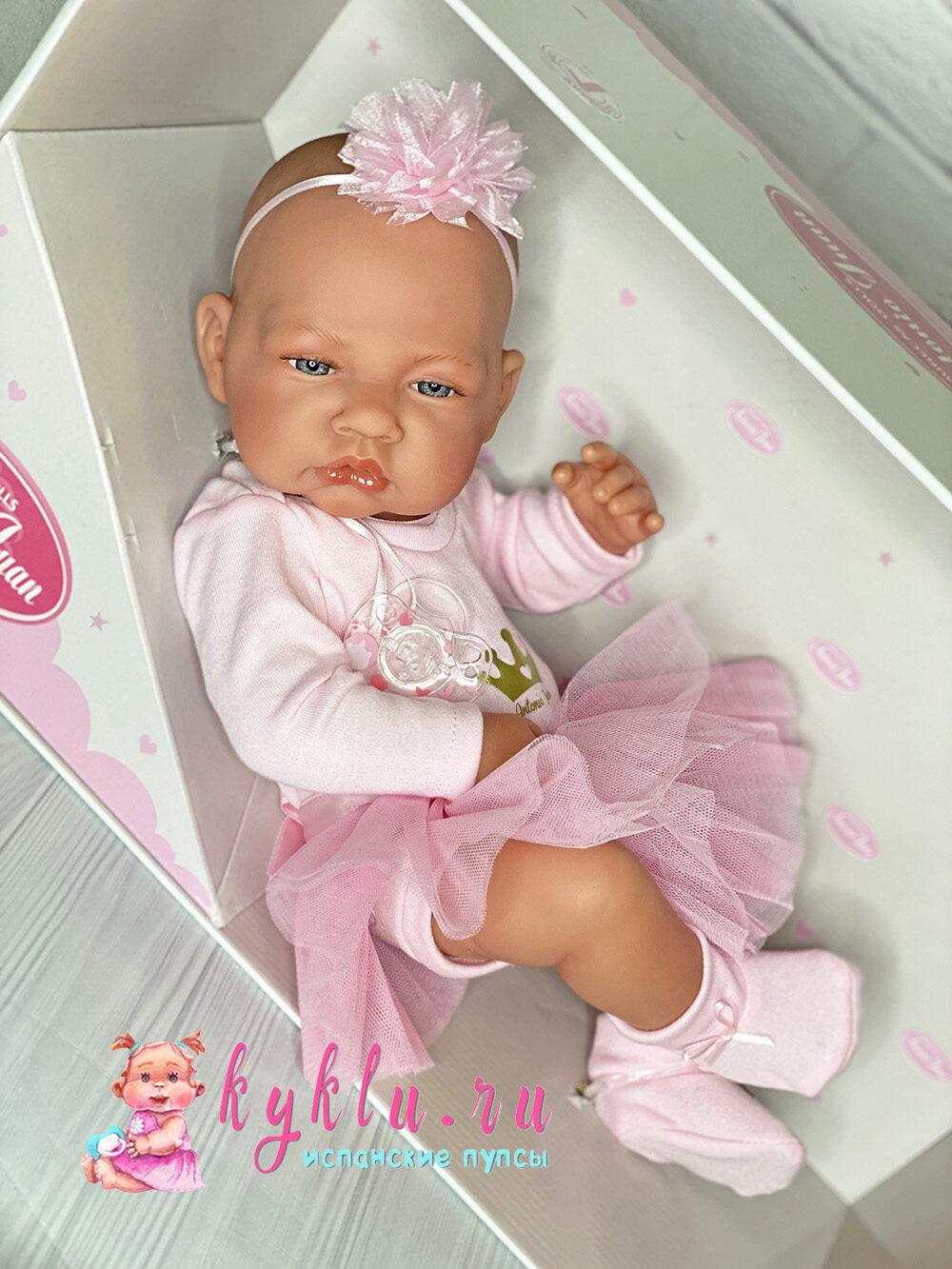Кукла Recien Nadica балерина 42 см