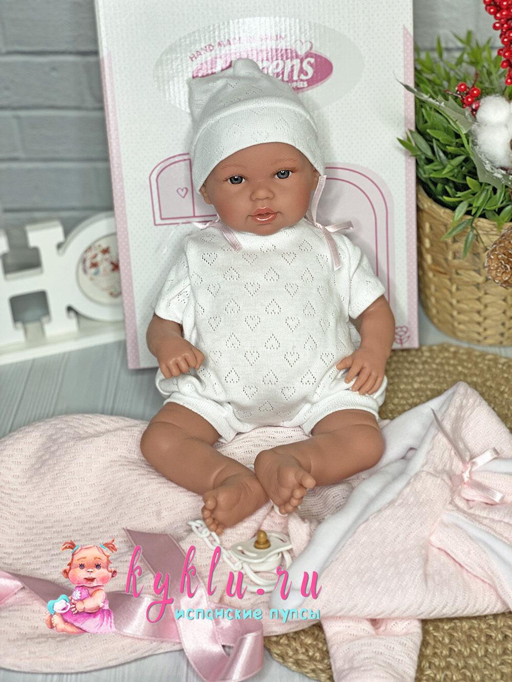 Кукла младенец в конверте с ушками от Llorens