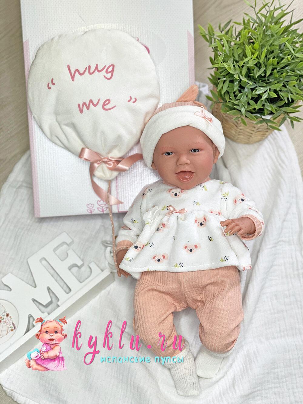 Кукла младенец с открытым ротиком