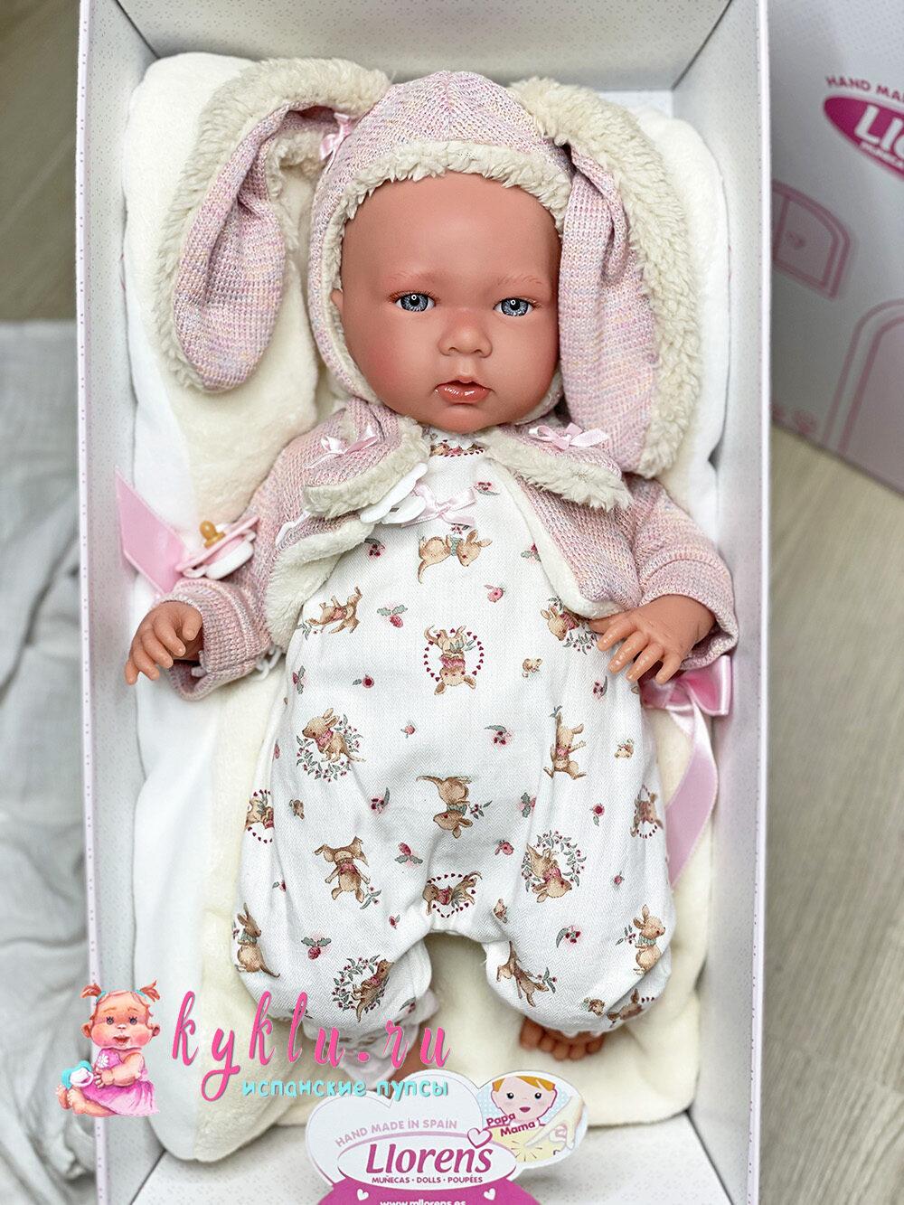 Кукла в костюме зайчика от фабрики Llorens
