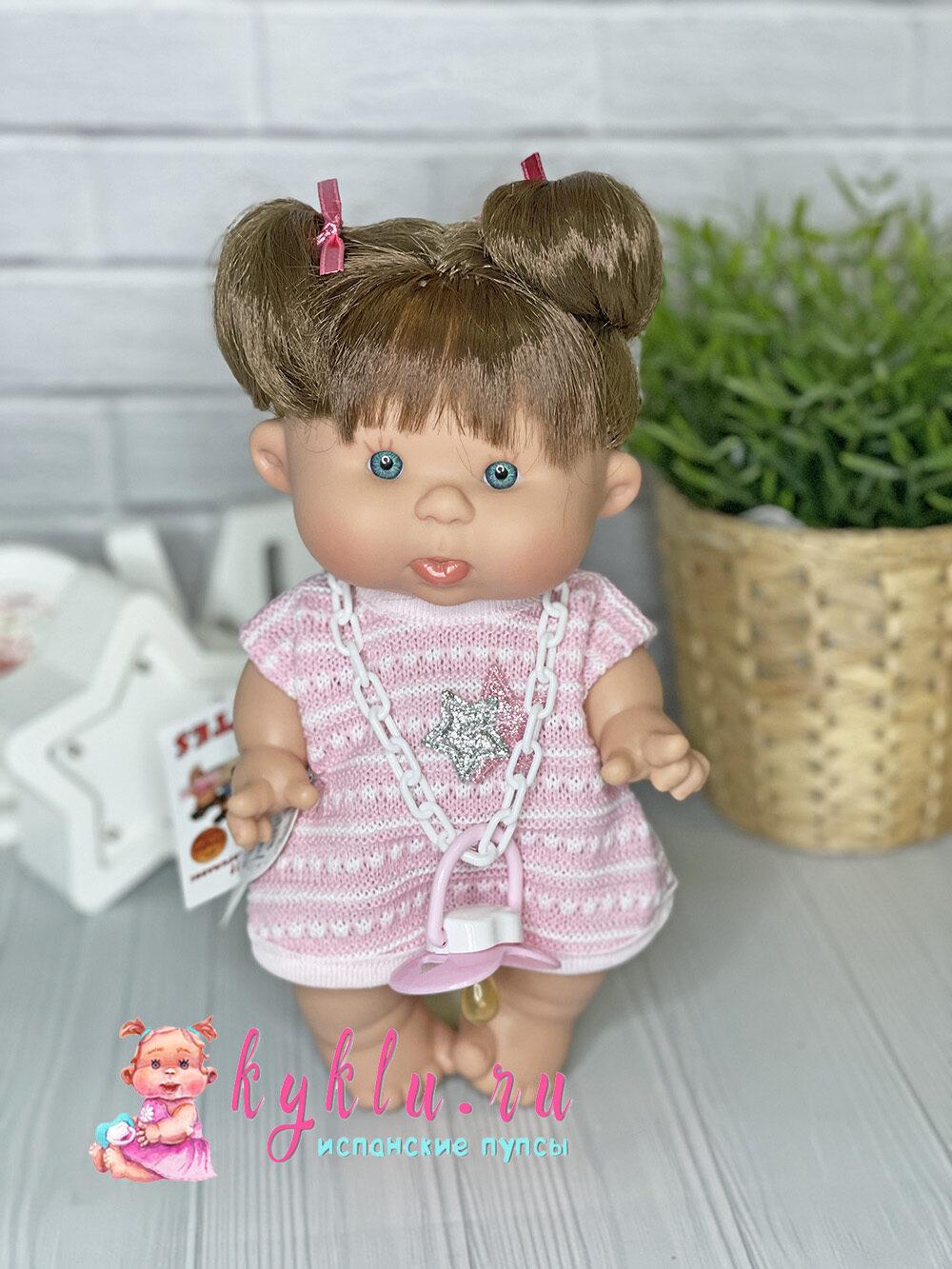 ванильный пупс девочка брюнетка