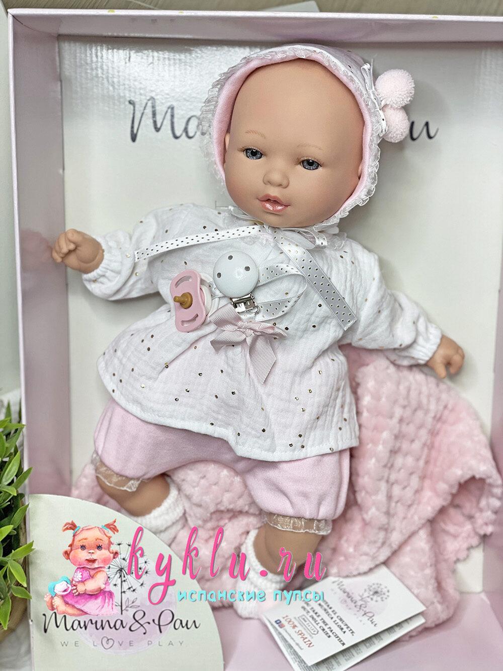 Кукла младенец от Marina&Pau