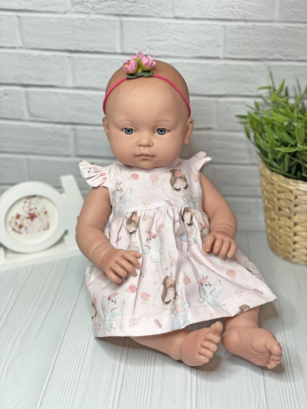 Платье для куклы 40-45 см