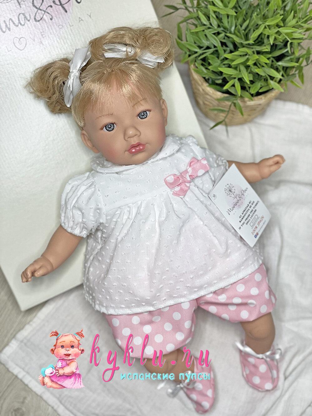 Кукла Алина с двумя хвостиками от Marina&Pau