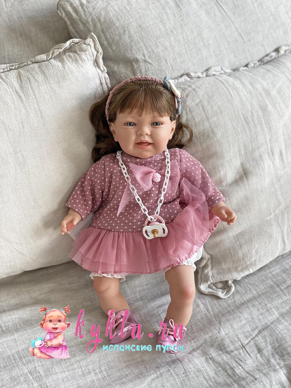 кукла Susi в розовом комплекте